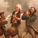 Archibald Willard's [1836-1918] The Spirit of '76, one of the most famous images depicting the American Revolutionary War