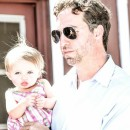 Reader Magazine Publisher Chris Theodore with daughter Sophia