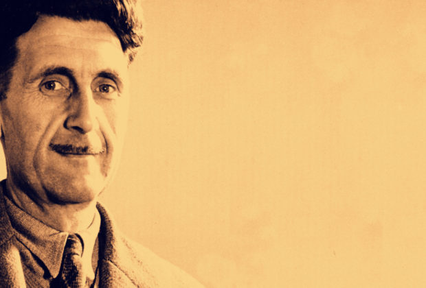 **  FILE ** Writer George Orwell poses in this undated photo at an unknown location. George Orwell's left-wing views and bohemian clothes led British police to label him a communist _ but the MI5 spy agency stepped in to correct that view, the writer's newly released security file reveals. The secret file the intelligence agency kept on the author from 1929 until his death in 1950 was declassified by the National Archives. (AP Photo)
